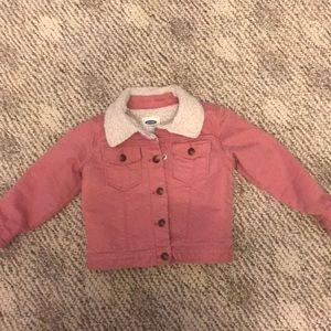 Toddler girls pink jacket